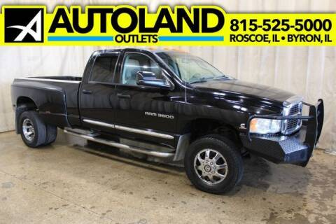 2005 Dodge Ram Pickup 3500 for sale at AutoLand Outlets Inc in Roscoe IL