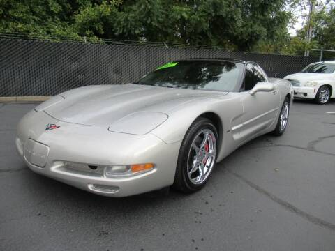 2004 Chevrolet Corvette for sale at LULAY'S CAR CONNECTION in Salem OR