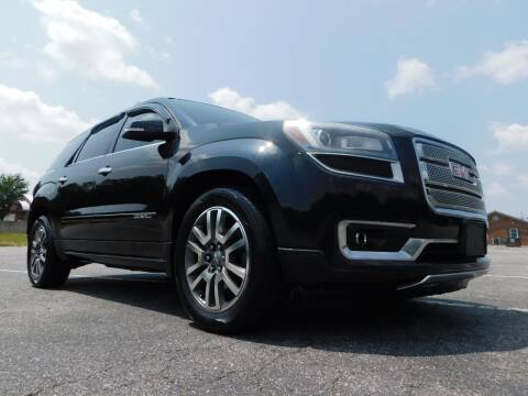 2014 GMC Acadia for sale at Used Cars For Sale in Kernersville NC