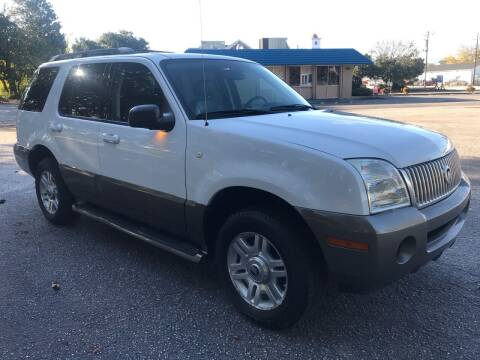2004 Mercury Mountaineer for sale at Cherry Motors in Greenville SC