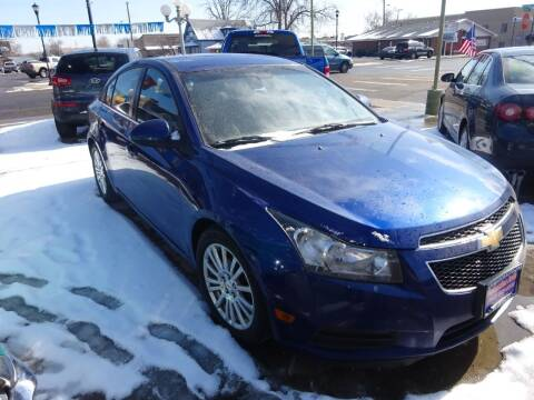 2012 Chevrolet Cruze for sale at Armando's Auto in Fort Lupton CO