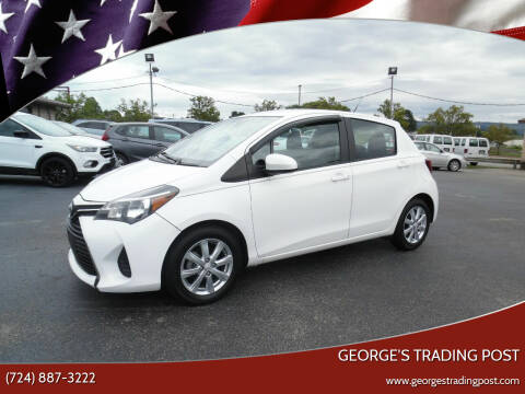 2017 Toyota Yaris for sale at GEORGE'S TRADING POST in Scottdale PA