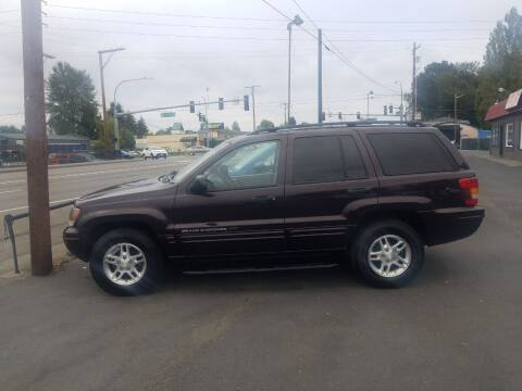 2004 Jeep Grand Cherokee for sale at Bonney Lake Used Cars in Puyallup WA