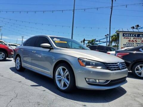 2012 Volkswagen Passat for sale at Select Autos Inc in Fort Pierce FL