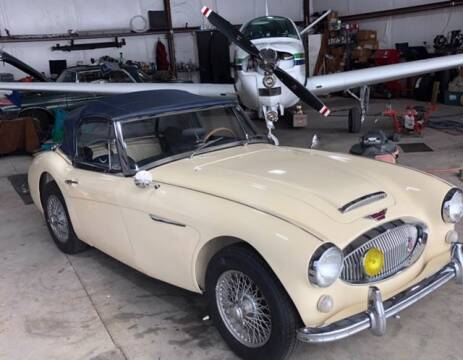 1965 Austin-Healey BJ8 for sale at Haggle Me Classics in Hobart IN