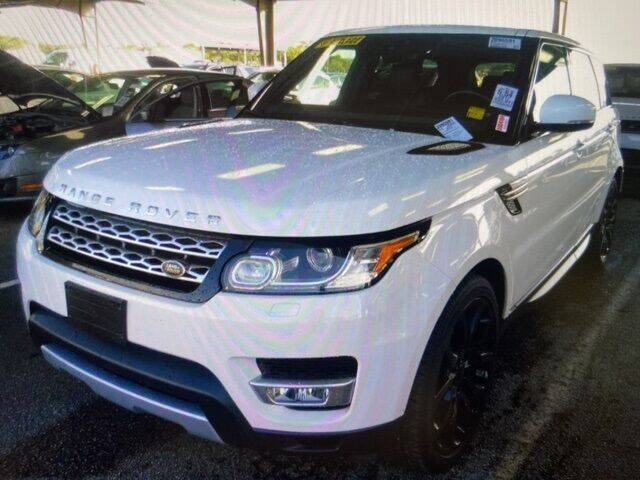 2017 Land Rover Range Rover Sport for sale at JOE BULLARD USED CARS in Mobile AL