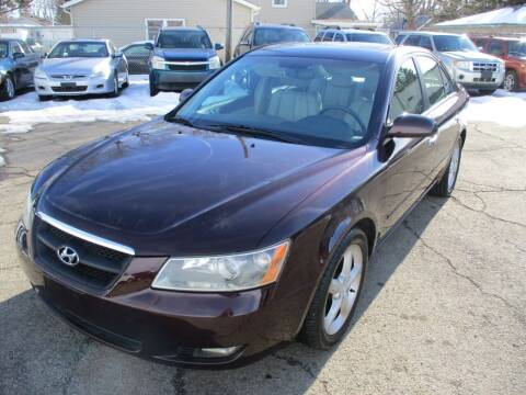 2006 Hyundai Sonata for sale at RJ Motors in Plano IL
