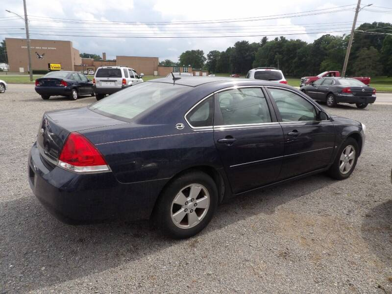 2008 Chevrolet Impala for sale at English Autos in Grove City PA