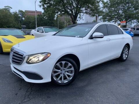 2017 Mercedes-Benz E-Class for sale at Sonias Auto Sales in Worcester MA