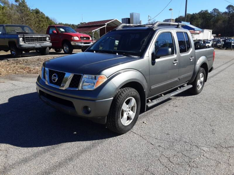 2006 Nissan Frontier for sale at Mathews Used Cars, Inc. in Crawford GA