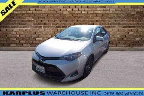2017 Toyota Corolla for sale at Karplus Warehouse in Pacoima CA