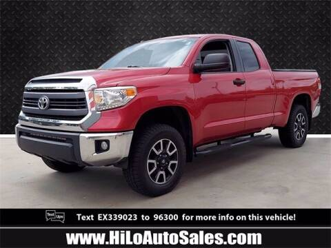 2014 Toyota Tundra for sale at Hi-Lo Auto Sales in Frederick MD