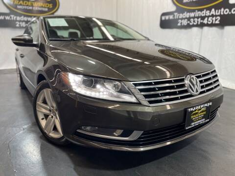 2017 Volkswagen CC for sale at TRADEWINDS MOTOR CENTER LLC in Cleveland OH