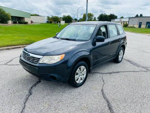 2009 Subaru Forester for sale at JE Autoworks LLC in Willoughby OH