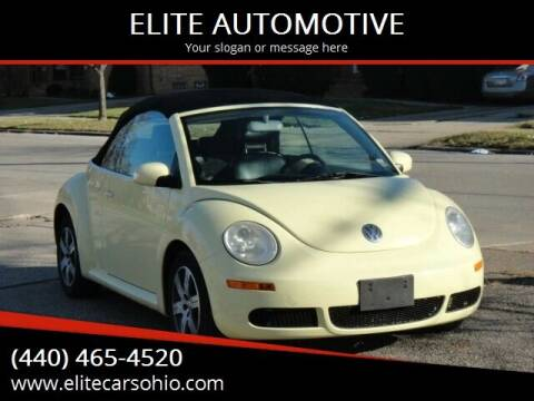 2006 Volkswagen New Beetle for sale at ELITE CARS OHIO LLC in Solon OH