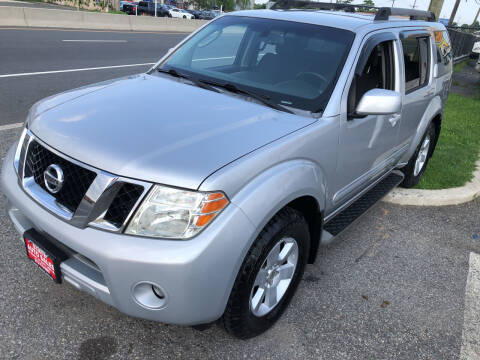 2008 Nissan Pathfinder for sale at STATE AUTO SALES in Lodi NJ