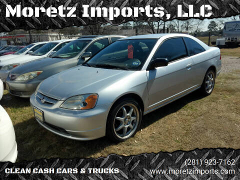 2003 Honda Civic for sale at Moretz Imports, LLC in Spring TX