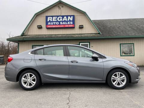 2018 Chevrolet Cruze for sale at Mark Regan Auto Sales in Oswego NY