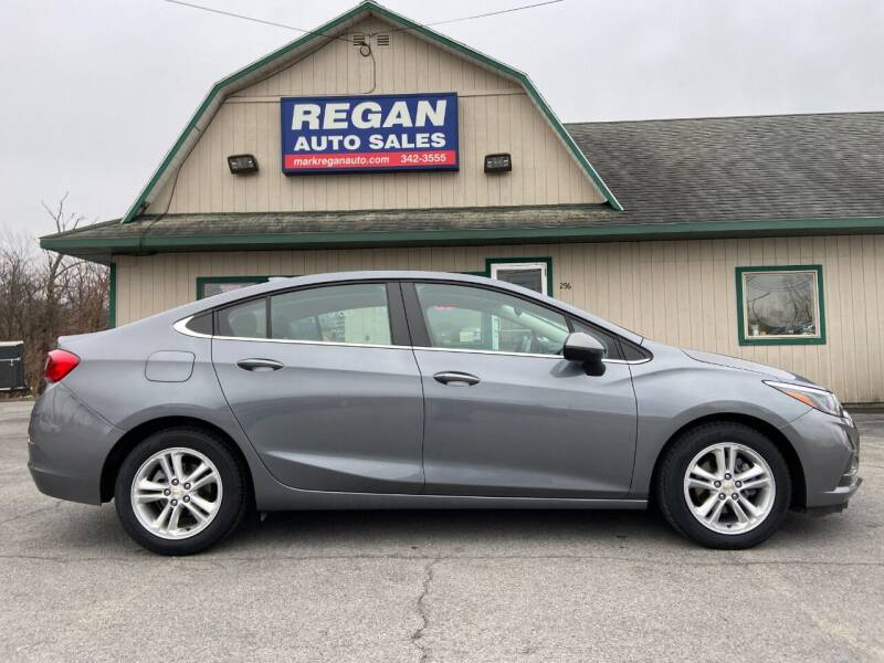 2018 Chevrolet Cruze for sale at Mark Regan Auto Sales in Oswego NY