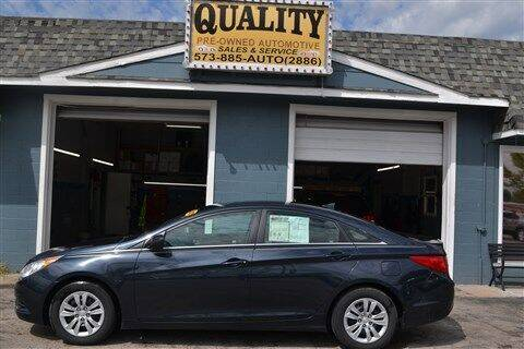 2012 Hyundai Sonata for sale at Quality Pre-Owned Automotive in Cuba MO