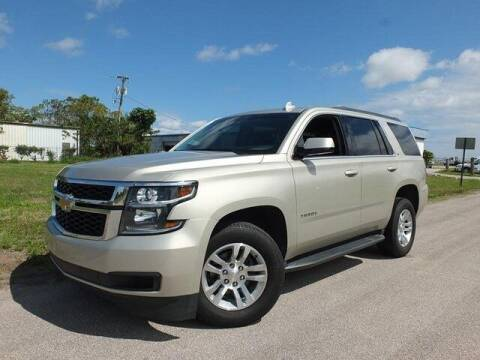 2017 Chevrolet Tahoe for sale at Automotive Credit Union Services in West Palm Beach FL