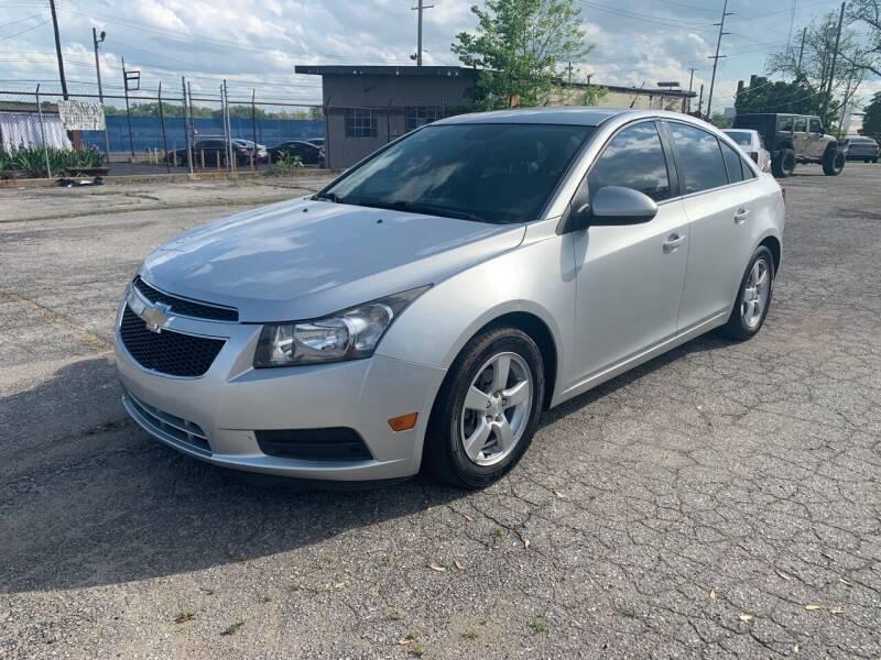 2014 Chevrolet Cruze for sale at Eddie's Auto Sales in Jeffersonville IN