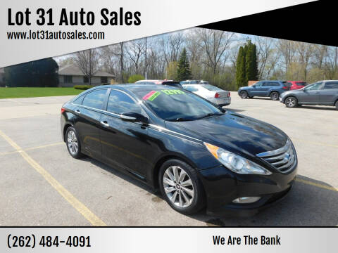 2014 Hyundai Sonata for sale at Lot 31 Auto Sales in Kenosha WI
