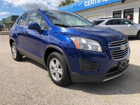 2015 Chevrolet Trax for sale at Perrys Certified Auto Exchange in Washington IN
