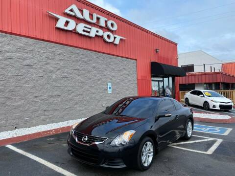 2012 Nissan Altima for sale at Auto Depot - Madison in Madison TN