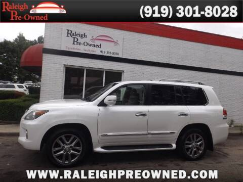 2013 Lexus LX 570 for sale at Raleigh Pre-Owned in Raleigh NC