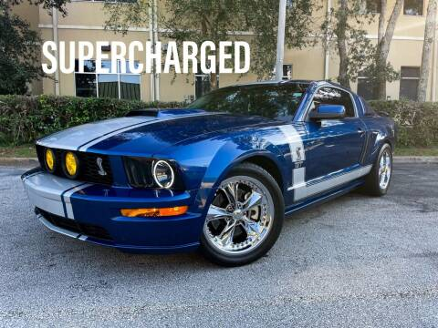 2006 Ford Mustang for sale at CARPORT SALES AND  LEASING in Oviedo FL