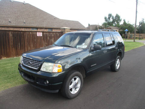 2004 Ford Explorer for sale at BUZZZ MOTORS in Moore OK