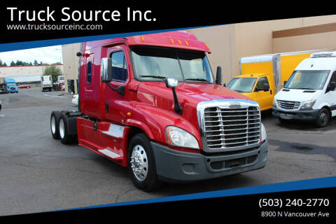 2014 Freightliner Cascadia for sale at Truck Source Inc. in Portland OR