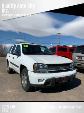 2002 Chevrolet TrailBlazer for sale at Quality Auto City Inc. in Laramie WY