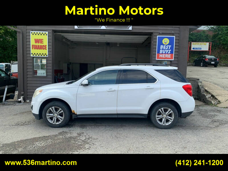 2010 Chevrolet Equinox for sale at Martino Motors in Pittsburgh PA