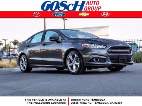 2016 Ford Fusion for sale at BILLY D SELLS CARS! in Temecula CA