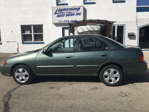2006 Nissan Sentra for sale at Lightning Auto Sales in Springfield IL