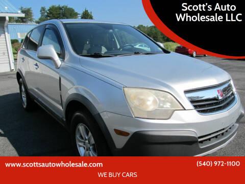 2009 Saturn Vue for sale at Scott's Auto Wholesale LLC in Locust Grove VA
