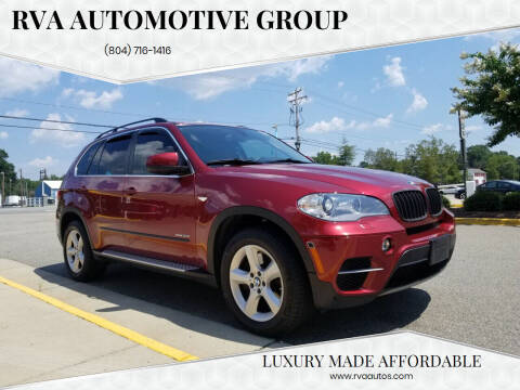 2012 BMW X5 for sale at RVA Automotive Group in North Chesterfield VA