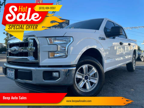 2017 Ford F-150 for sale at Beep Auto Sales in National City CA