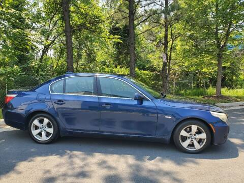 2008 BMW 5 Series for sale at M & M Auto Brokers in Chantilly VA