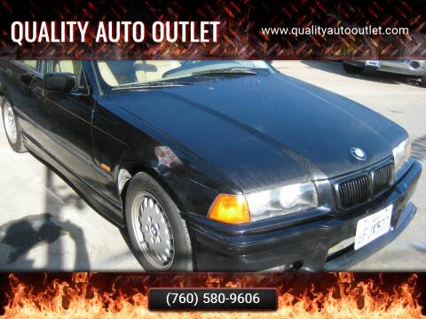 1997 BMW 3 Series for sale at Quality Auto Outlet in Vista CA