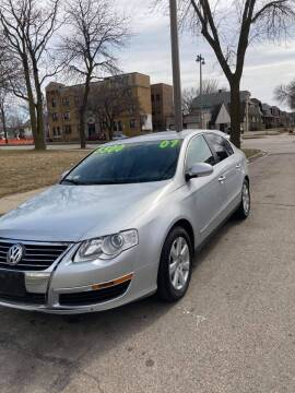 2007 Volkswagen Passat for sale at Square Business Automotive in Milwaukee WI