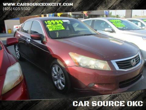 2008 Honda Accord for sale at Car One - CAR SOURCE OKC in Oklahoma City OK