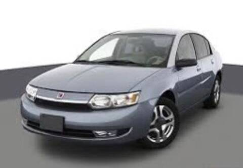 2003 Saturn Ion for sale at Tonys Auto Sales Inc in Wheatfield IN