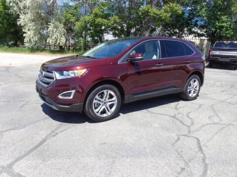 2018 Ford Edge for sale at State Street Truck Stop in Sandy UT