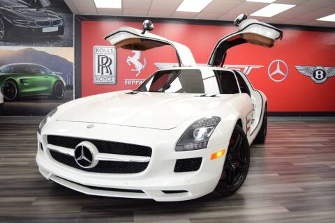 2012 Mercedes-Benz SLS AMG for sale at Icon Exotics in Houston TX