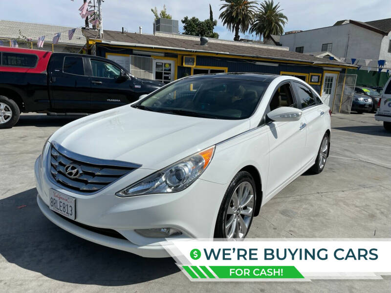 2012 Hyundai Sonata for sale at FJ Auto Sales North Hollywood in North Hollywood CA
