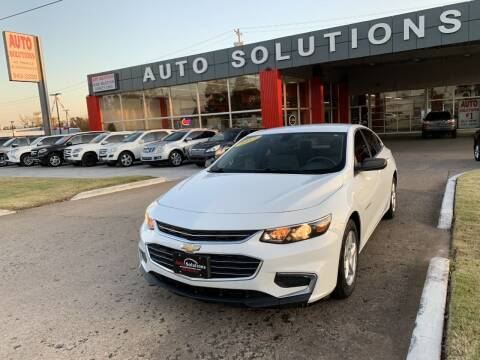2017 Chevrolet Malibu for sale at Auto Solutions in Warr Acres OK