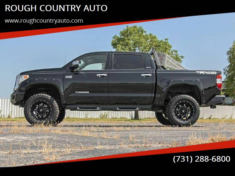 2014 Toyota Tundra for sale at ROUGH COUNTRY AUTO in Dyersburg TN